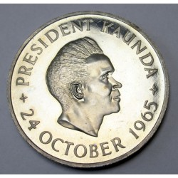 5 shillings 1965 PP -Independence