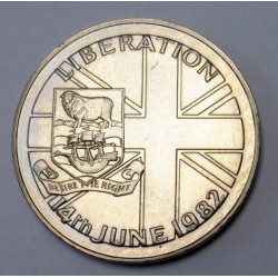 50 pence 1982 - Liberation of Falkland