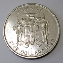 5 dollars 1993