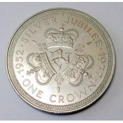 1 crown 1977 - Reign anniversary of Elisabeth II