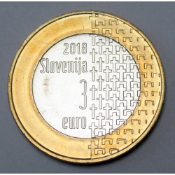 3 euro 2018 - 100th anniversary of the end of the First World War