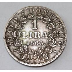 1 lira 1866