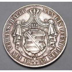 Vereinsthaler 1859 F - Sachsen