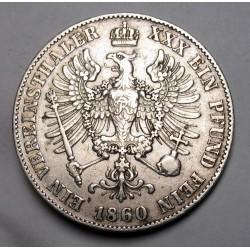 Vereinsthaler 1860 A - Prussia