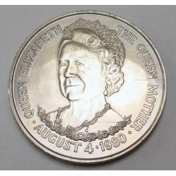 25 pence 1980 - Elisabeth's 80th birthday
