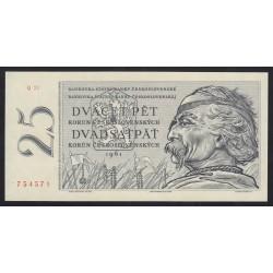 25 korun 1961