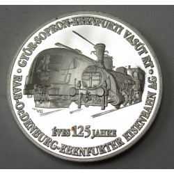 The Sopron railway line is 125 years old PROOF