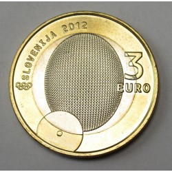 3 euro Szlovénia 2012 - Rudolf Cvetko