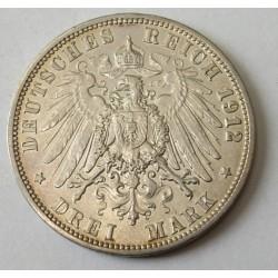 3 mark 1912  A - Prussia
