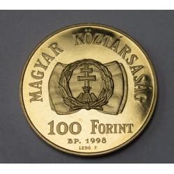 100 forint 1998 BU - Freedom revolution