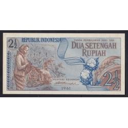 2 1/2 rupiah 1961