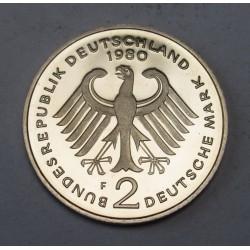 2 mark 1980 F PP Kurt Schumacher