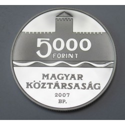 5000 forint 2007 PP - Gyula castle