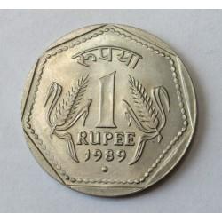 1 rupee 1989