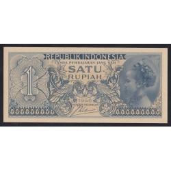 1 rupiah 1956