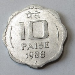 10 paise 1988
