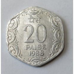 20 paise 1988