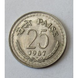 25 paise 1987