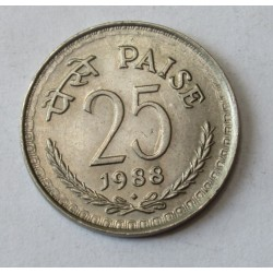 25 paise 1988