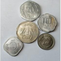 rupee set 1988