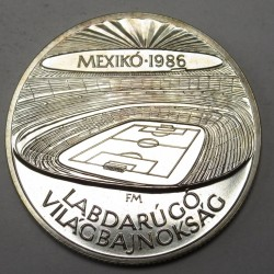 500 forint 1986 - Mexico Football World Cup