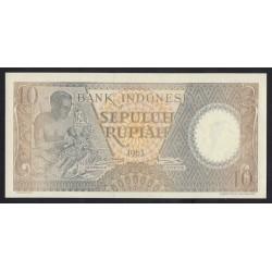10 rupiah 1963