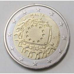 2 euro 2015 - EU flag 30 years