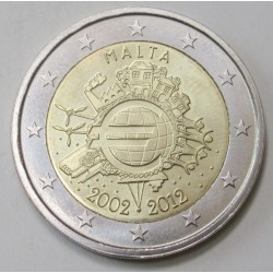 2 euro 2012 - Euro 10 years