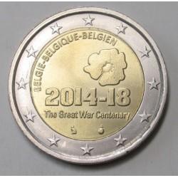 2 euro 2014 - The start of I. World War