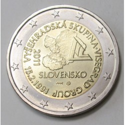 2 euro 2011 - 20th anniversary of the Visegrad Four