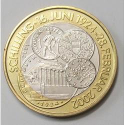 50 schilling 2001 - Last Schilling