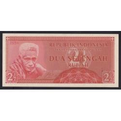 2 1/2 rupiah 1956