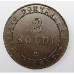 2 soldi 1867
