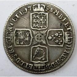 1 shilling 1758