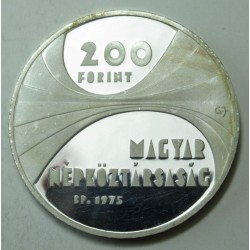 200 forint 1975 PP - Hungarian Scientific Academy