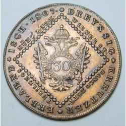Franz I. 30 kreuzer 1807 A