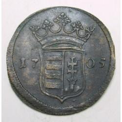 II. Rákóczi Ferenc poltura 1705