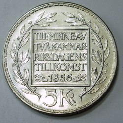 5 kronor 1966 - The constitution is 100 years old