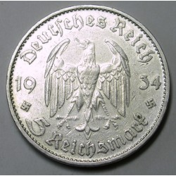 5 reichsmark 1934 D