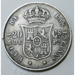20 centimos 1868