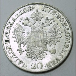 Franz I. 20 kreuzer 1831 B