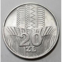 20 zlotych 1973
