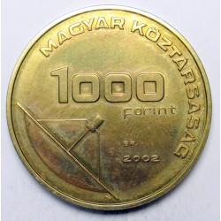 1000 forint 2002 - Message