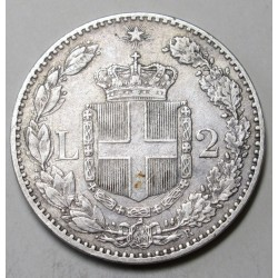 2 lire 1882