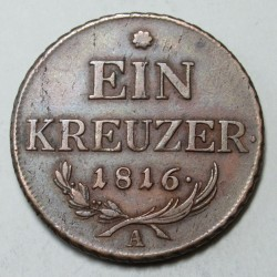 Franz I. 1 kreuzer 1816 A