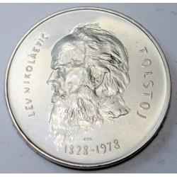 1000 lire 1978 - Lev Tolstoj drámaiíró