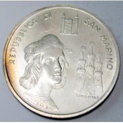 1000 lire 1983 - Raffaello's Birthday