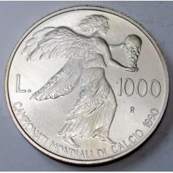 1000 lire 1990 - 1990 olaszországi világbajnokság