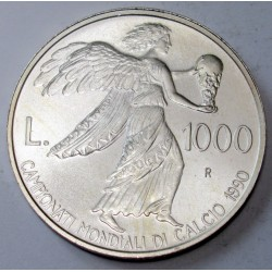 1000 lire 1990 - 1990 World Cup in Italy