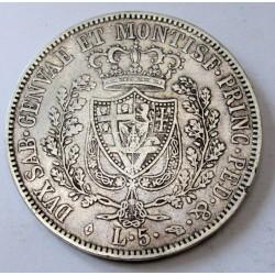 5 lire 1830